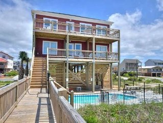 Oceanfront Home w/Private Pool! Beautiful,5 Bdrm/3.5 Bath w/ Lots of Amenities-S