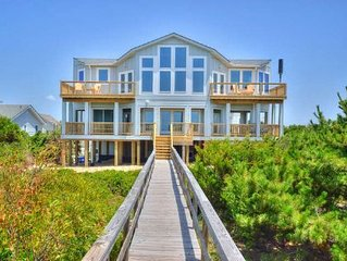 Sea 4 Miles-Oceanfront 7 Bedrooms-6 Bdrms have Private Bath & King Bed/Sleeps 16