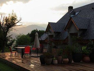 Gite de plain-pied avec jardin - Gite de France '2 epis'