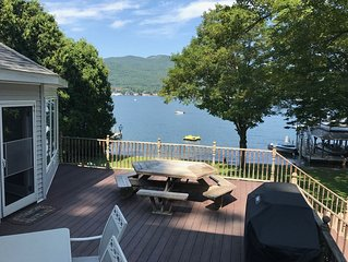 Spectacular Views from Every Room in This Huge Lake Front Home