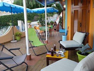 Luminoso appartamento per vacanza a Casamicciola Terme ( Isola d' Ischia - NA )