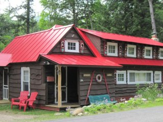 Fairy-tale Cabin in White Mountains, Historic Charm 'Dundee Lodge' - Sleeps 5-6