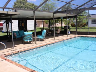 Affordable 3 Bedroom Pool Home, If You Came For The Sunshine This Is It!