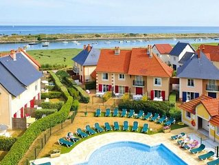 Holiday Resort Port Guillaume, Dives-sur-Mer  in Calvados - 6 persons, 2 bedroo