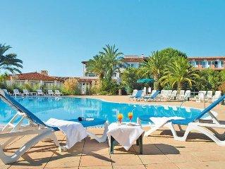 Apartment Hotel Soleil de Saint Tropez  in Grimaud, Cote d'Azur - 2 persons, 1
