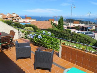 Apartment with wonderfull views over Atlantic Islands Natural Park 2, Baiona Bay