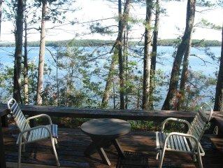Lake Cabin On Round Lake Wisconsin