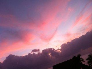 Oceanview, Fantastic Sunset!