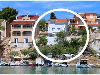 2845 A4 gornji(4+1) - Primosten, Riviera Sibenik, Kroatien