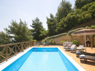 EUROPA,2BR,2BTH VILLA WITH PRIVATE POOL AND STUNNING SEA VIEWS