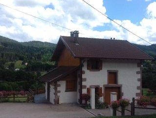 VOSGES, Farmhouse 4 stars. HANDICAP LABEL. OF 31/12 / to 02/01: 300 €