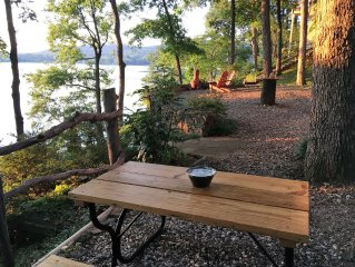 New secluded cottage on Spencer Bay,  Lake Catherine,  minutes to track & town
