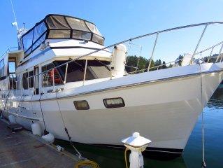42'  Ponderosa  Located in the Historic Gig Harbor Marina & Boatyard