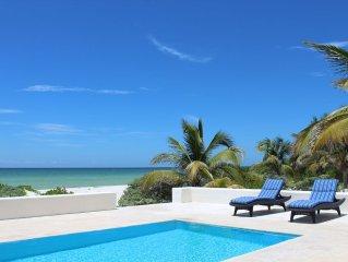 BEROCO Front Beach House Yucatan Wi-Fi, Pool, Smart Tv