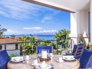 Azure Azul M212 at Wailea Beach Villas - Panoramic Ocean View Villa