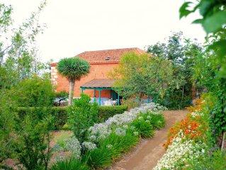 wunderbare Landhaus mit schonem Garten und in der Mitte der Natur