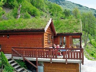 Ferienhaus in Aurland, Fjordnorwegen - 6 Personen, 3 Schlafzimmer