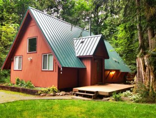 Adorable N Cascades Cabin W Hot Tub, Pets OK! 15% OFF or 3RD FREE in Spring!