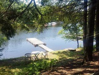 Lake Wallenpaupack Riverfront ***Private Dock***