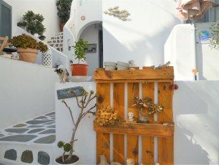 Cosy studio 2 personnes avec balcon à Parikia : 150m de Livadia-Beach