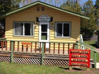 Cozy Cabin Rental- Single Bedroom, 4 Bed