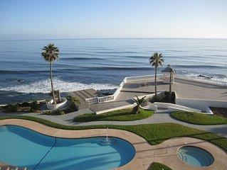 Rosarito Beach, Baja Ocean Front Gated Secured Building Condo Costa Bella