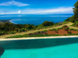 Modern Villa in the Jungle!   Jaw dropping Views of the entire Osa Peninsula.