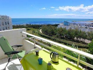 Apartment Les Terrasses de la Mer  in La Grande Motte, Herault - Aude - 4 perso