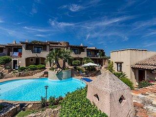 Ferienhaus Vista Village  in Porto San Paolo, Sardinien - 5 Personen, 2 Schlafzi