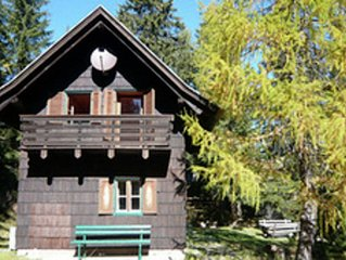 Chalet in quiet location, surrounded by delightful scenery on the Italian border