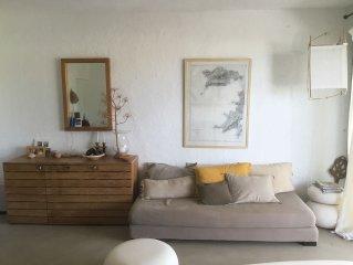 petite maison de vacances, en bord de mer à sant ambroggio