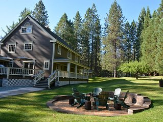 Spacious Executive/Family Retreat, 3 Flat Acres, DODGE RIDGE OPEN TIL 4/16/17!!