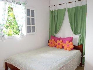 Location de vacances  'AUTHENTICITE et CONVIVIALITE'  à DESHAIES GUADELOUPE