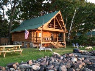 Log Cabin on Lake Ontario