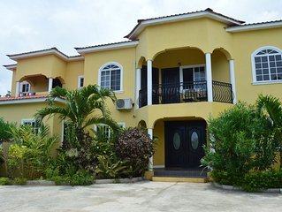 Beautiful New & Private Villa-- Centrally Located In Runaway Bay, Jamaica W.I.