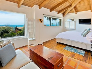 Spanish Style Home w/ Expansive Ocean View, Steps to Beach