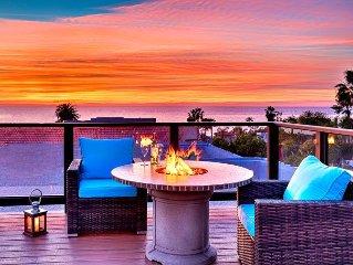 Roof Top Deck, Ocean Views, Hot Tub, Steps to Beach