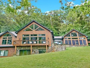 Timeless Memories - 6 Bedroom, Timber Frame Luxury Home on Canandaigua!
