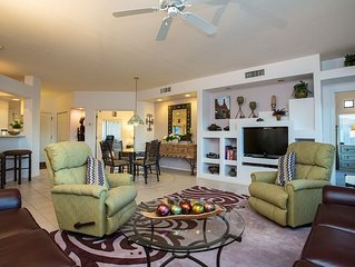 Luxury Condo with award winning golf course and Mountain Views