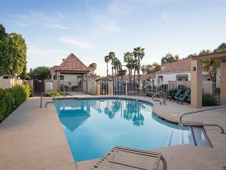 Furnished patio home in Tempe. Close to ASU & Tempe Market Place!