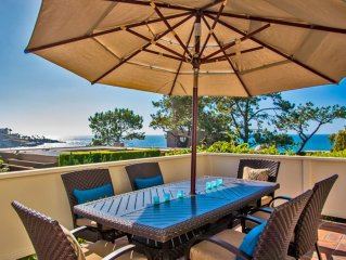 20% OFF JULY - Beach Home with Patio, Ocean Views and Close to Everything!