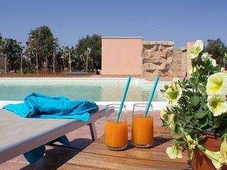 Villa con piscina Casale di Gio Golfo di Castellammare