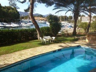 Apartamento en el club nautico Santa Ponsa, bonitas vistas y piscina comunitaria