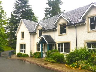 Lodge on Country Estate near Gleneagles with leisure centre.