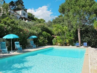 Vacation home La Garance  in Grasse, Cote d'Azur - 10 persons, 5 bedrooms