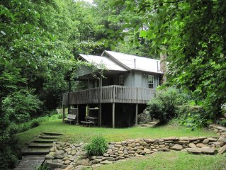 Brett's Falling Waters Cabin, Hot Tub, Central Air, Waterfall, Pet Friendly