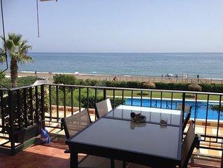 Malaga: apartamento - MALAGA, primera linea de playa, piscina, tenis, espectacul
