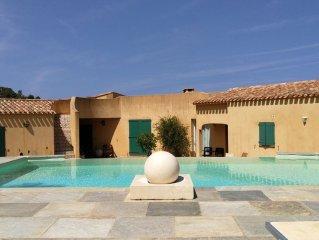 Superbe villa avec vue mer et piscine