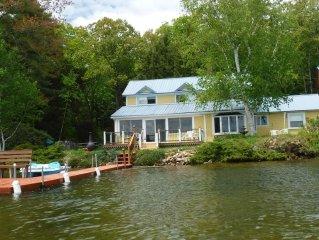 FALL SPEC: $400/nt-2 nt min Lakehse, Boats/Dock Fireplace 4bd/3bath Sleeps 10