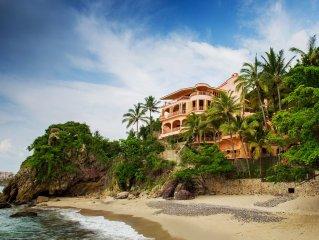 Villa Estrella Mar - Luxury Beachfront Villa near Old Town PV with Full Staff